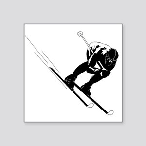 Ski Racer Sticker